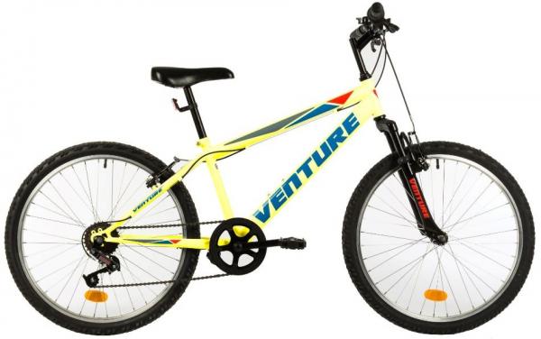 Bicicleta Copii Venture 2419 Alb 24 Inch 1