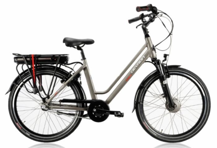 Bicicleta Electrica Devron 26122 M Negru 26 Inch 1