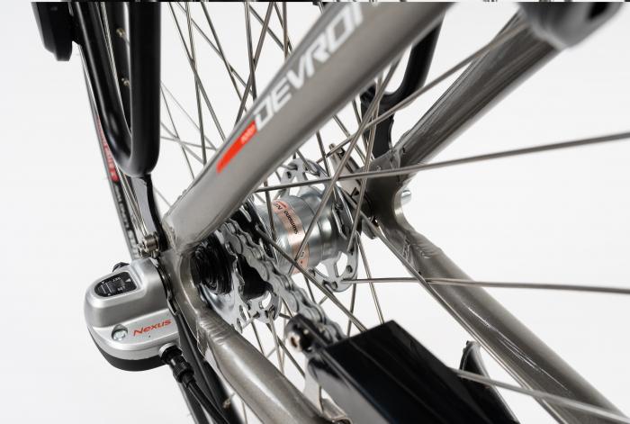 Bicicleta Electrica Devron 26122 M Negru 26 Inch 6