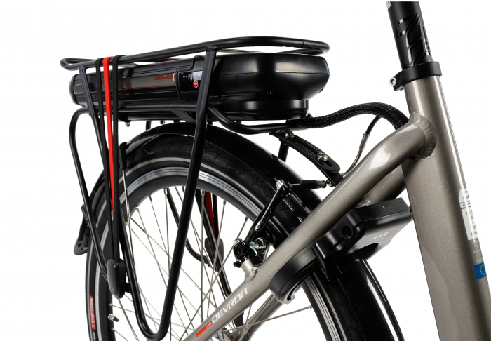 Bicicleta Electrica Devron 26122 M Negru 26 Inch 5