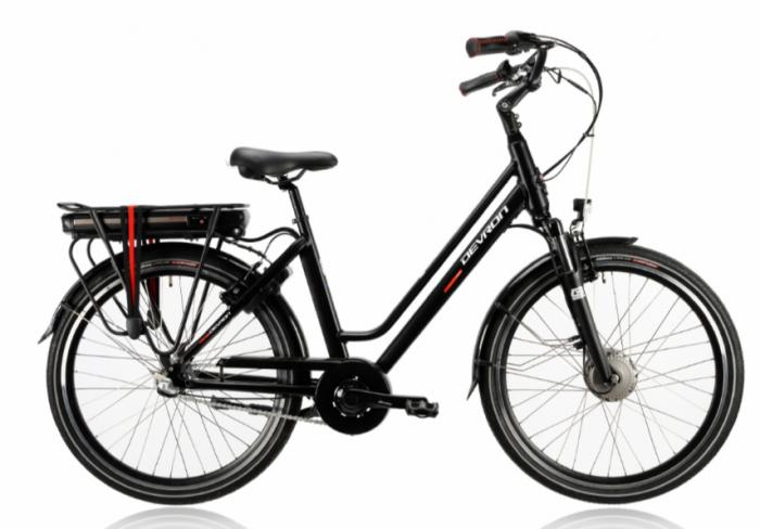 Bicicleta Electrica Devron 26122 M Negru 26 Inch 0