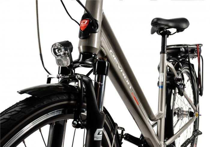 Bicicleta Electrica Devron 26122 M Negru 26 Inch 7