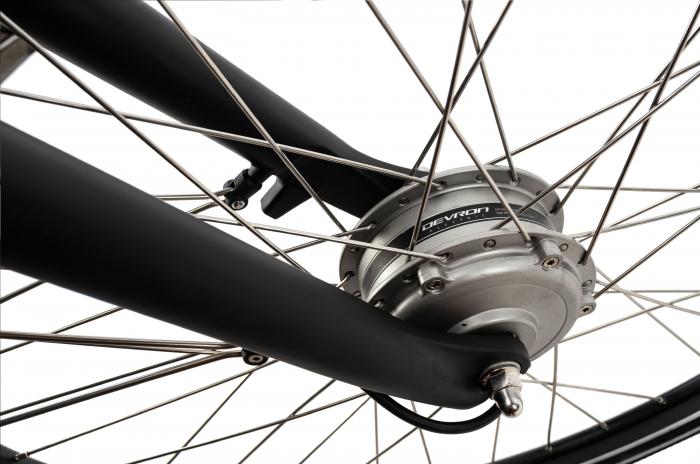 Bicicleta Electrica Devron 26122 M Negru 26 Inch 2