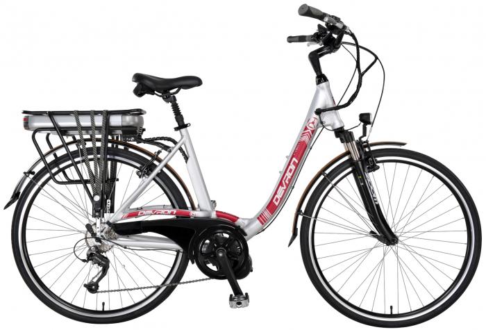 Bicicleta Electrica Devron 28006 Eco I-Vega Negru 28 Inch 2