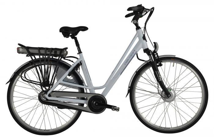Bicicleta Electrica Devron 28022 E-Bike 490Mm Alb Mat 28 Inch 0