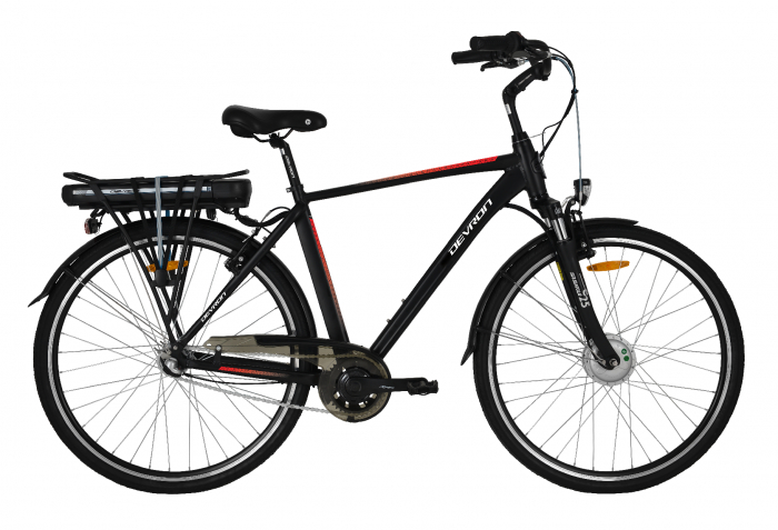 Bicicleta Electrica Devron 28121 L Champagne 28 Inch [1]