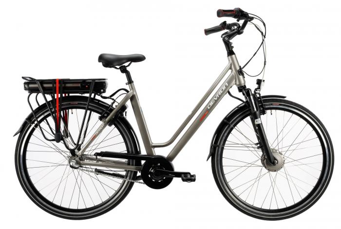 Bicicleta Electrica Devron 28122 L Gri 28 Inch 0