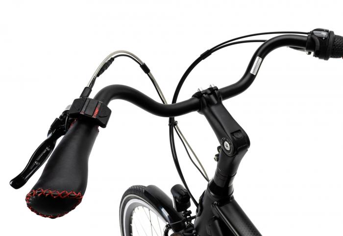 Bicicleta Electrica Devron 28123 M Negru Mat 28 Inch 5
