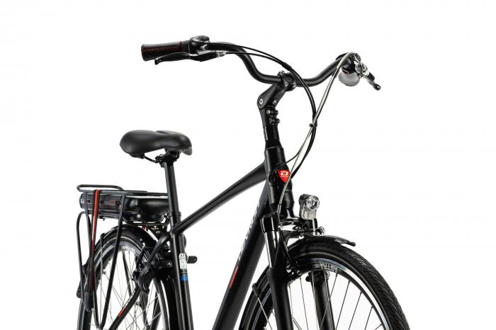 Bicicleta Electrica Devron 28123 M Negru Mat 28 Inch 3