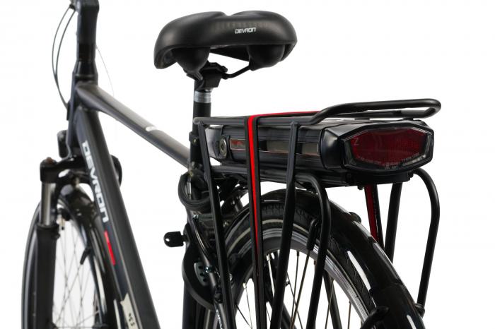 Bicicleta Electrica Devron 28123 M Negru Mat 28 Inch 2