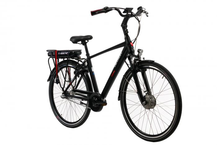 Bicicleta Electrica Devron 28125 Negru L 28 Inch 1
