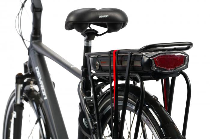 Bicicleta Electrica Devron 28125 Negru L 28 Inch 2