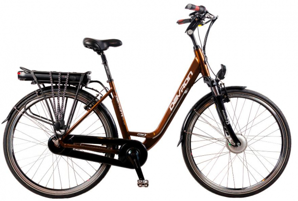Bicicleta Electrica Devron 28128 530 Mm Hot Chocolate 28 Inch 0