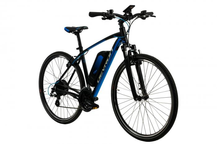 Bicicleta Electrica Devron 28161 Xl 520Mm Negru 28 Inch 1