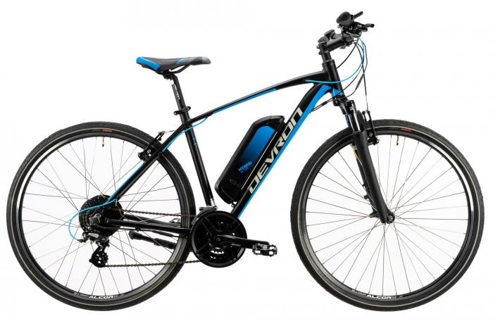 Bicicleta Electrica Devron 28161 Xl 520Mm Negru 28 Inch 0