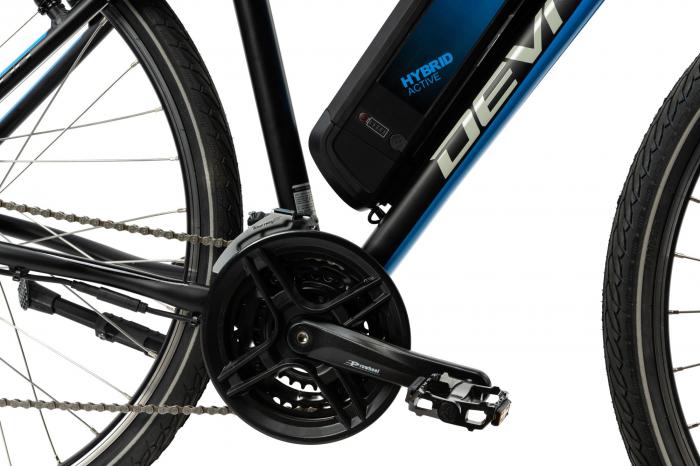 Bicicleta Electrica Devron 28161 Xl 520Mm Negru 28 Inch 2
