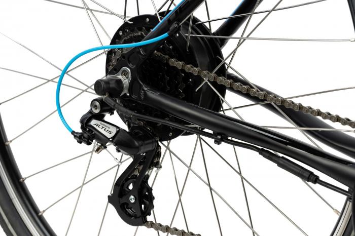 Bicicleta Electrica Devron 28161 Xl 520Mm Negru 28 Inch 3