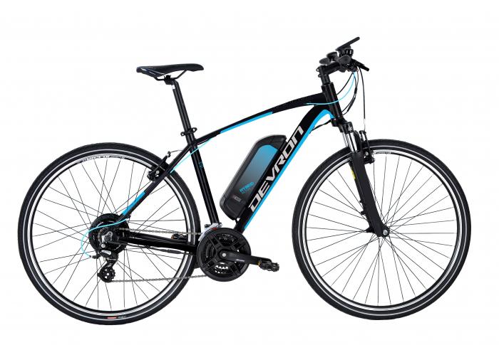 Bicicleta Electrica Devron 28161 Xl 520Mm Negru Mat 28 Inch 0