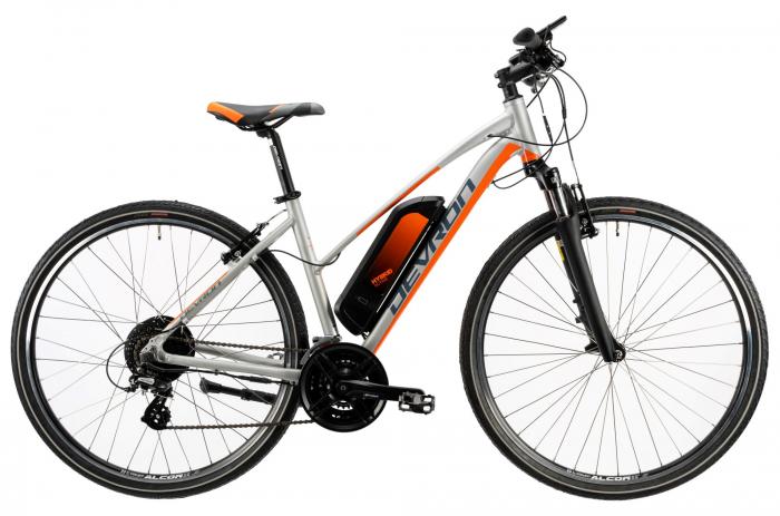 Bicicleta Electrica Devron 28162 L Argintiu 28 Inch 0