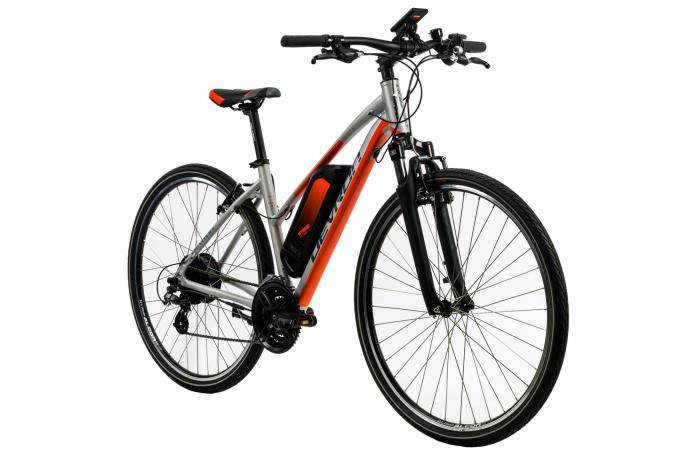Bicicleta Electrica Devron 28162 L Argintiu 28 Inch 1