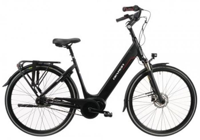 Bicicleta Electrica Devron 28426 - 28 Inch, L, Negru [0]
