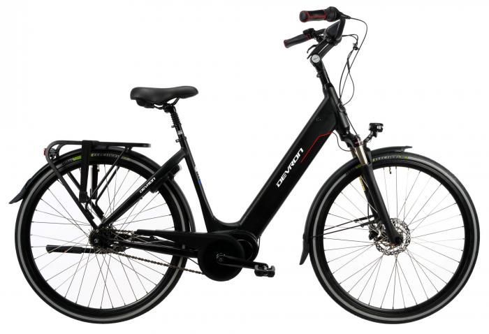 Bicicleta Electrica Devron 28426 Negru L 28 Inch 0