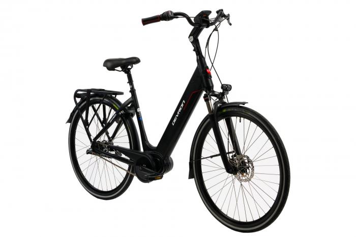 Bicicleta Electrica Devron 28426 Negru L 28 Inch 1