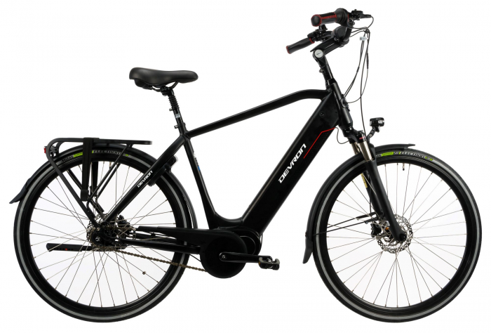 Bicicleta Electrica Devron 28427 Xl 530Mm Negru 28 Inch 0