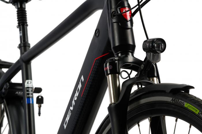 Bicicleta Electrica Devron 28427 Xl 530Mm Negru 28 Inch 4