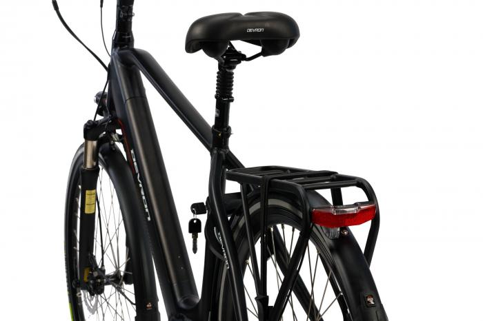 Bicicleta Electrica Devron 28427 Xl 530Mm Negru 28 Inch 3