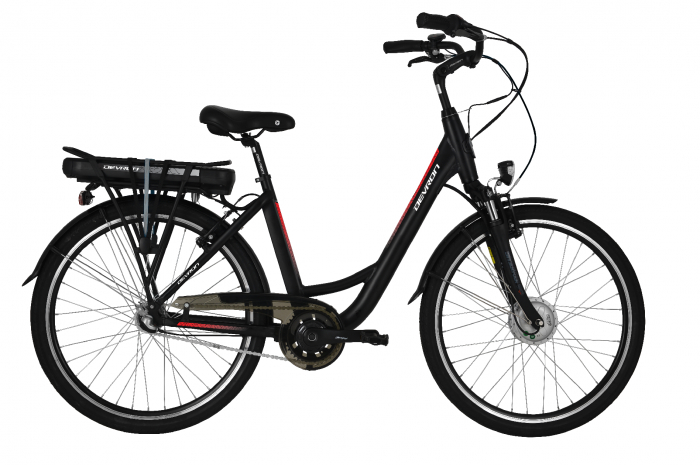 Bicicleta Electrica Devron City E-Bike Devron 26120 M 460Mm Albastru Deschis 26 Inch 1