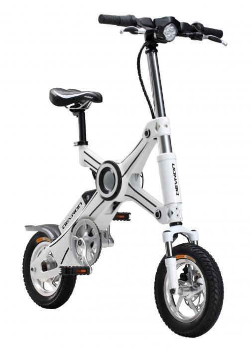 Bicicleta Electrica Devron Pliabila Folding X3 Negru 20 Inch 2