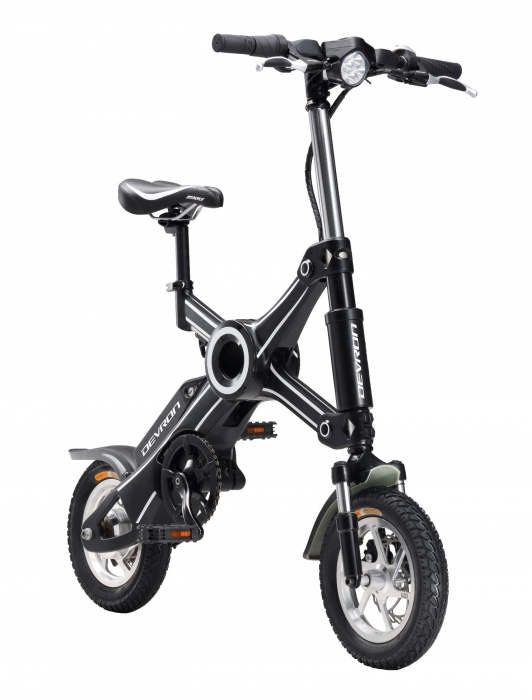 Bicicleta Electrica Devron Pliabila Folding X3 Negru 20 Inch 3