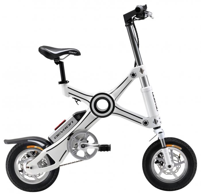 Bicicleta Electrica Devron Pliabila Folding X3 Negru 20 Inch 0