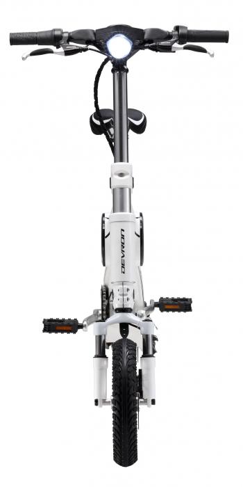 Bicicleta Electrica Devron Pliabila Folding X3 Negru 20 Inch 5