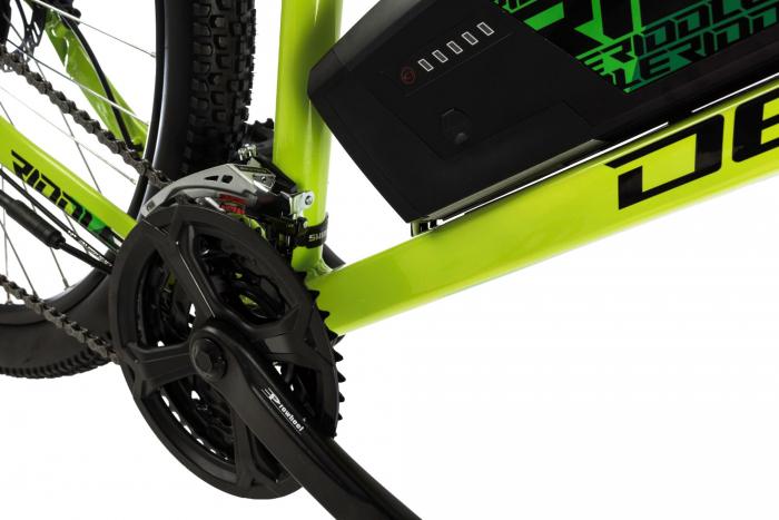 Bicicleta Electrica Devron Riddle M1.7 E-Bike M Neon 27.5 Inch 5