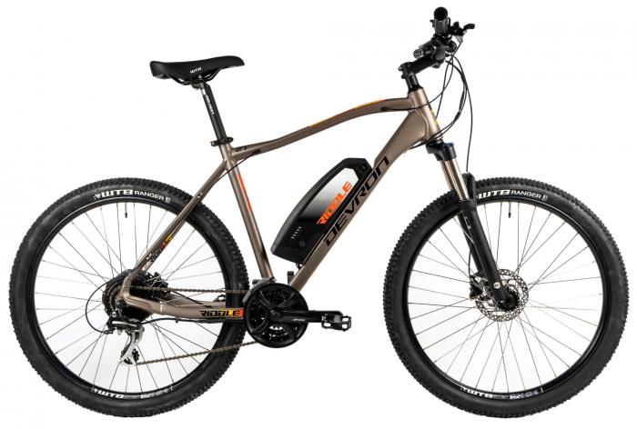 Bicicleta Electrica Devron Riddle M1.7 E-Bike M Neon 27.5 Inch 0