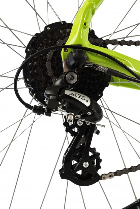 Bicicleta Electrica Devron Riddle M1.7 E-Bike M Neon 27.5 Inch 6