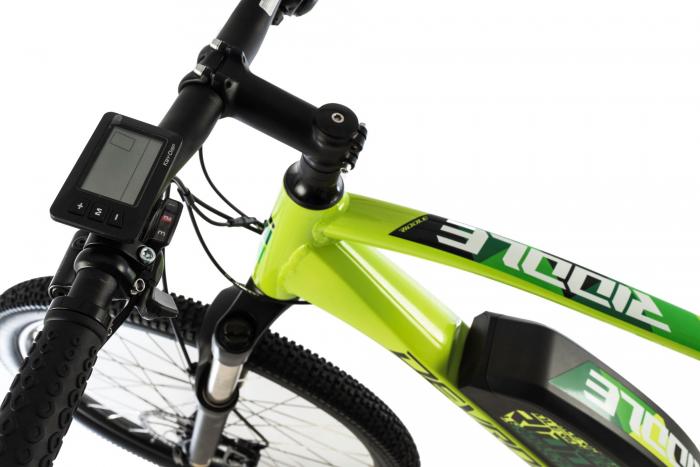 Bicicleta Electrica Devron Riddle M1.7 E-Bike M Neon 27.5 Inch 7