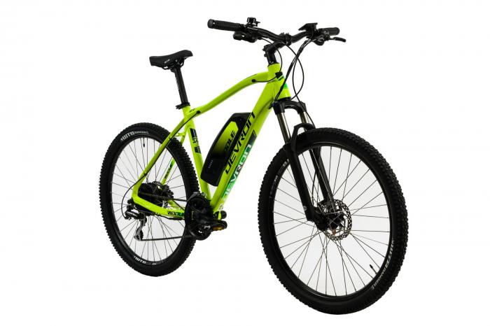 Bicicleta Electrica Devron Riddle M1.7 E-Bike M Neon 27.5 Inch 3