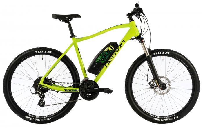 Bicicleta Electrica Devron Riddle M1.7 E-Bike M Neon 27.5 Inch 1