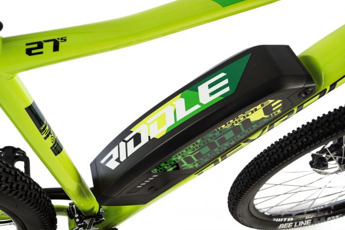 Bicicleta Electrica Devron Riddle M1.7 E-Bike M Neon 27.5 Inch 4
