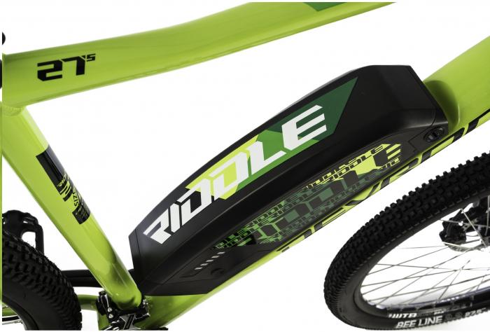 Bicicleta Electrica Devron Riddle Man E1.7 Xl 520Mm Gri Mat 27.5 Inch 2