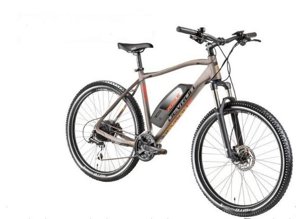 Bicicleta Electrica Devron Riddle Man E1.7 Xl 520Mm Gri Mat 27.5 Inch 0