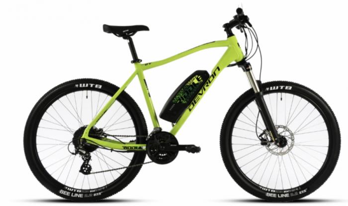 Bicicleta Electrica Devron Riddle Man E1.7 Xl 520Mm Gri Mat 27.5 Inch 1