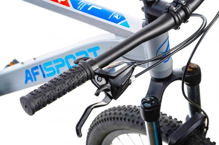 Bicicleta Mtb Afisport M2 - 29 inch, L , Argintiu [22]