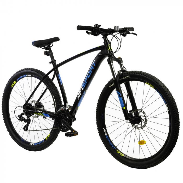 Bicicleta Mtb Afisport M3 - 29 inch, 495 mm, Gri [8]