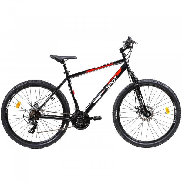 Bicicleta Mtb Afisport Supra Spot M Rosu 27.5 Inch 0