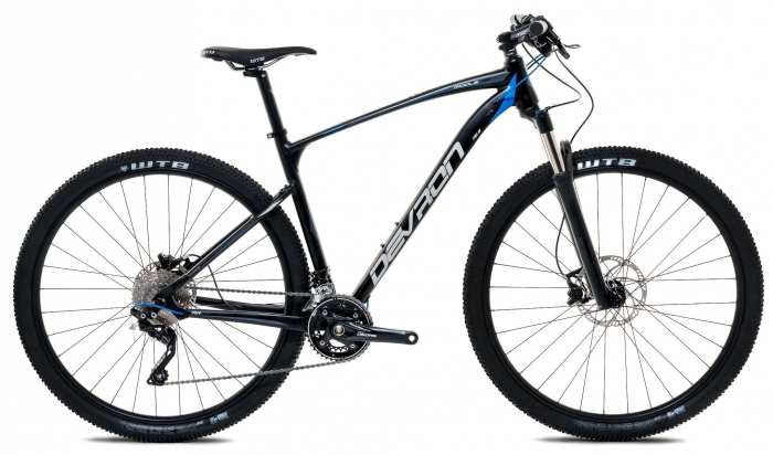 Bicicleta Mtb Devron Men R6.9 Xl 530Mm Pure Black 29 Inch 0