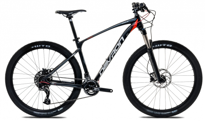 Bicicleta Mtb Devron Men R7.7 Xl 533Mm Vicious Black 27.5 Inch 0